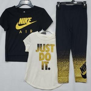 🆕️ Nike Black & Gold Set